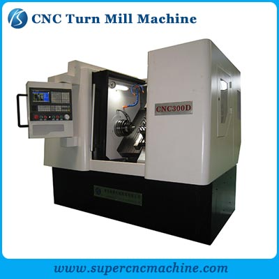 CNC Turn Mill Machine