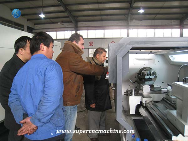 cnc milling machine customer from Iran